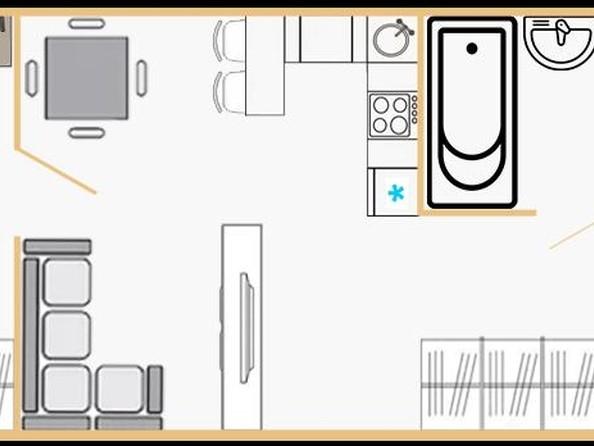 Продам 1-комнатную, 21.74 м², РИТМ. Фото 1.