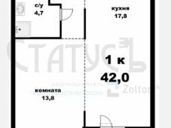 Продам 1-комнатную, 42 м², Павловский тракт, 168. Фото 1.
