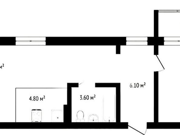 Продам 2-комнатную, 55 м², Советской Армии ул, 71. Фото 3.