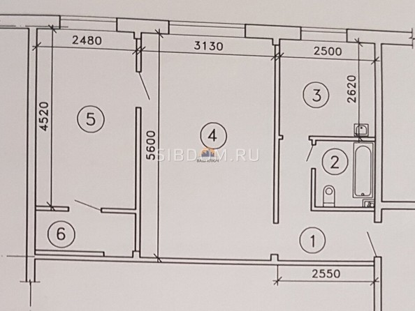 Продам 2-комнатную, 44.9 м2, Пржевальского ул, 2. Фото 3.