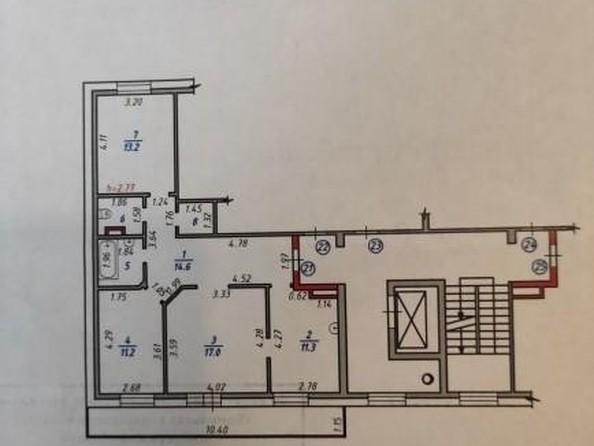 Продам 3-комнатную, 75.5 м2, Байкальская ул, 202/10. Фото 19.