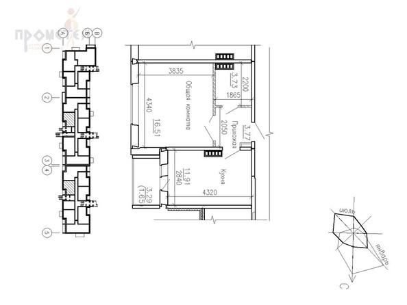Продам 1-комн., 37.57 кв.м., ФЛАМИНГО, дом 10. Фото 13.
