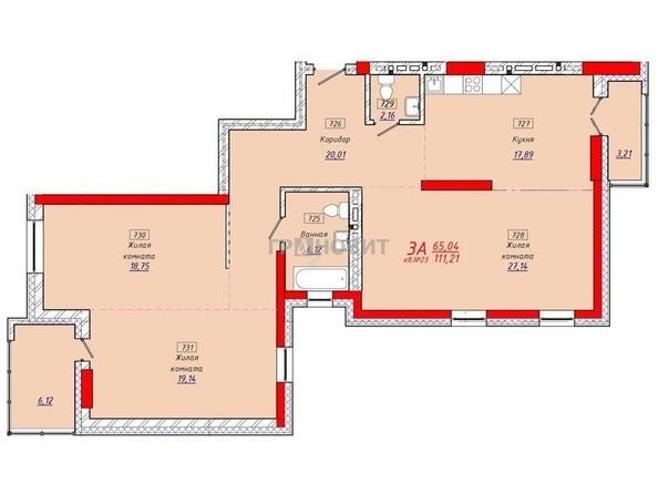 Продам 3-комнатную, 112 м2, Тимирязева ул, 73/1. Фото 24.