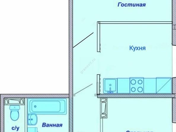 Продам 2-комнатную, 55.04 м2, Бронная ул, 7с. Фото 21.