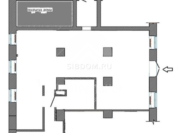 Сдам торговое помещение, 144 м², Дзержинского пр-кт. Фото 18.