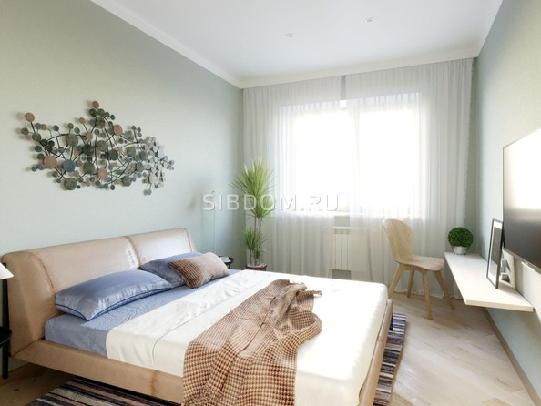 Продам 1-комнатную, 36.77 м², ЕНИСЕЙСКИЙ, дом 1. Фото 5.
