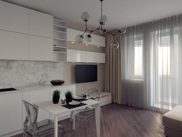 Продам 1-комнатную, 28.28 м², ЕНИСЕЙСКИЙ, дом 1. Фото 2.