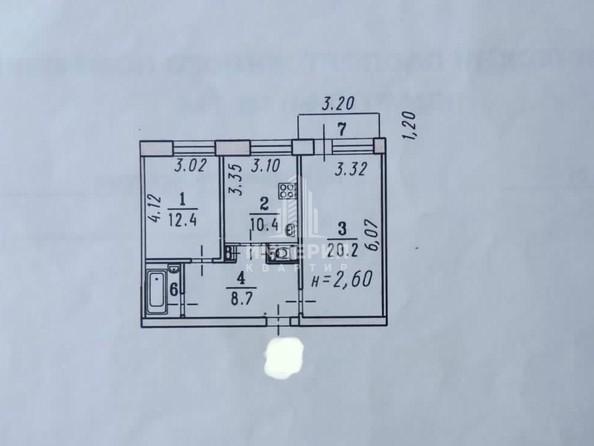 Продам 2-комнатную, 60 м², Лермонтова ул, 24. Фото 13.
